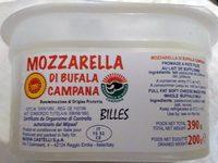 Mozzarella di bufala campana bille - 产品 - fr