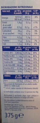 Cereali multigrain - Informations nutritionnelles - it