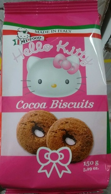 Hello Kitty Cocoa Biscuits - Product