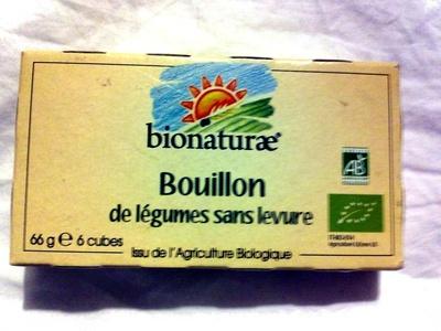 Bouillon de légumes sans levure - Product