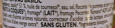 Pesto alla genovese - Ingredients - fr