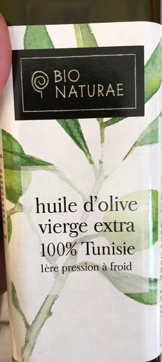 Huile d'olive vierge extra 100% Tunisie - Produit
