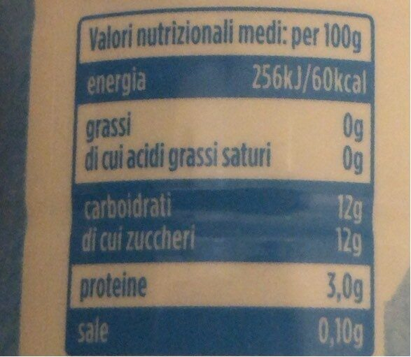 Yogurt da bere - Nutrition facts - en