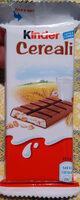 Kinder country barre de cereales enrobee de chocolat 1 barre - Prodotto - it