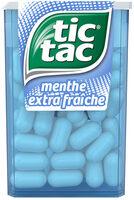 Bonbons tic tac goût menthe extra fraiche - Product - fr