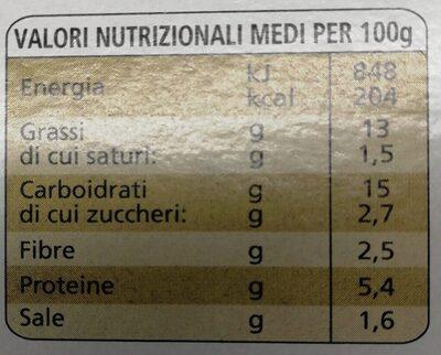 La farinata della spezia - Nutrition facts