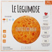 Le legumose lenticchie rosse - Produit - fr