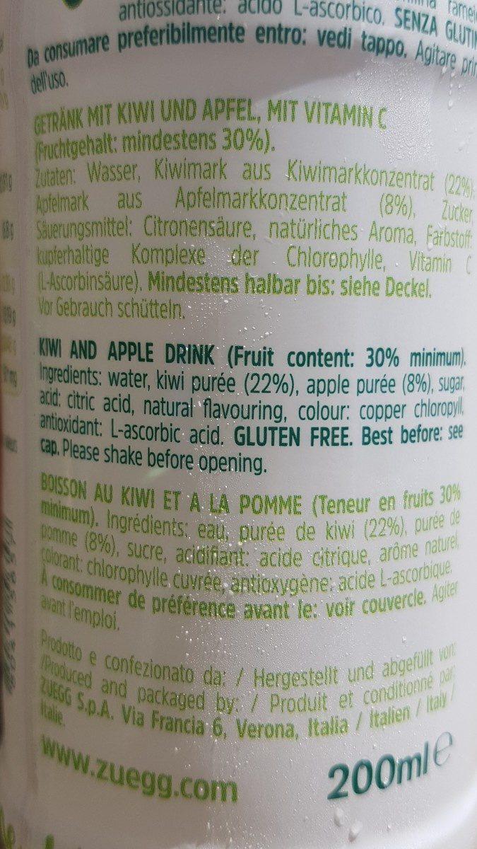 kiwi apple - Ingrédients - fr