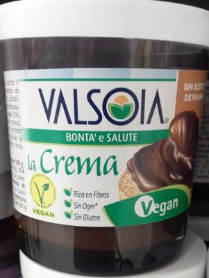 Crema para untar de avellanas y cacao con soja - Producto - es