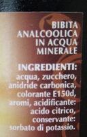 spuma nera - Ingredienti - it