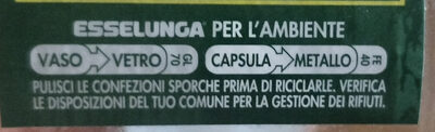 Antipasto di verdure in olio di oliva - Recycling instructions and/or packaging information - it