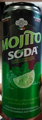 Mojito soda - Produit - fr