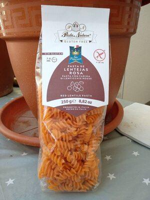 Espirales de lentejas rosa sin gluten - Product - es
