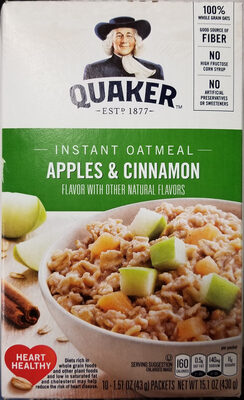 Instant Oatmeal Apples & Cinnamon - Product