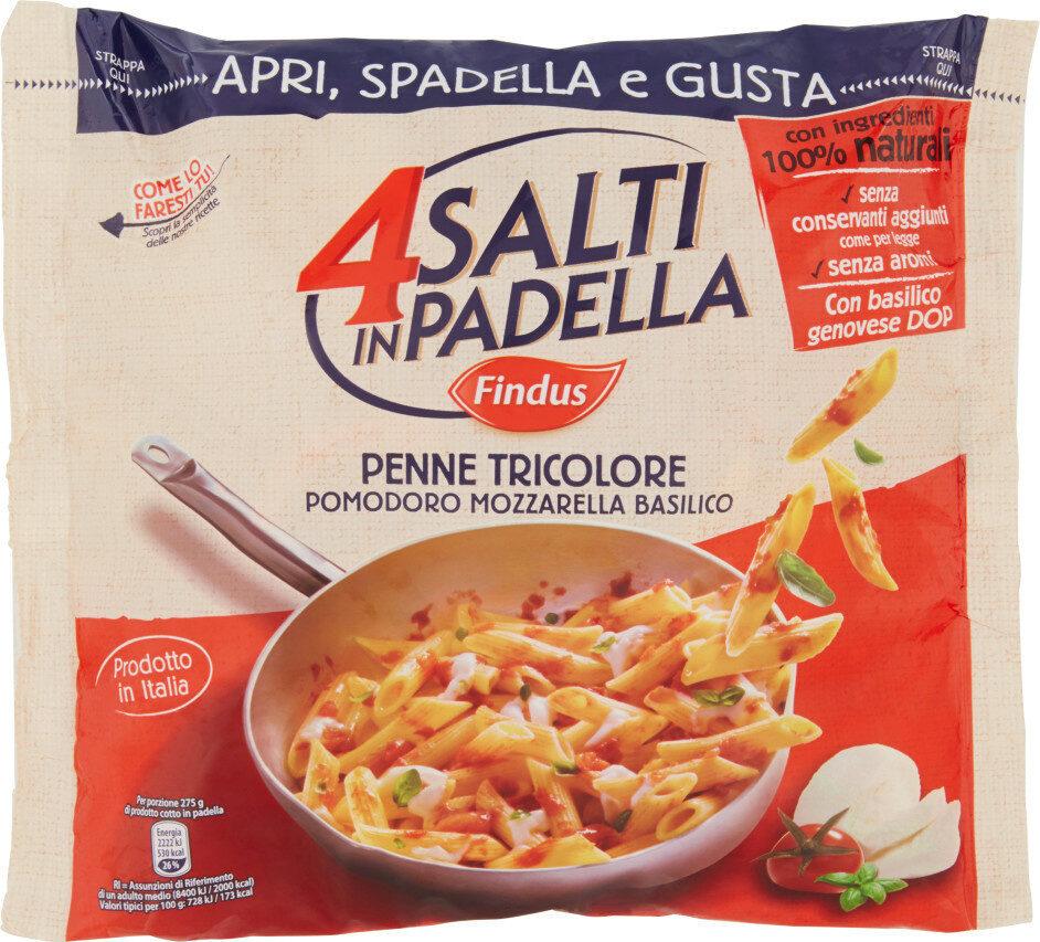 Findus penne tricolore pomodoro mozzarella basilico - Produit - en