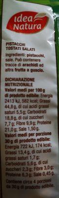 Pistacchi tostati e salati - 1