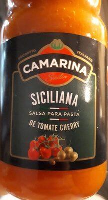 Salsa de tomates cherry - Producto - en