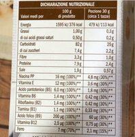 Corn flkes - Nutrition facts - it