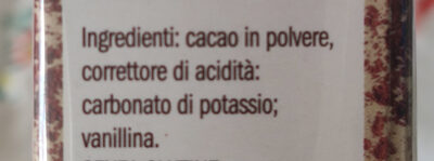 cacao in polvere amaro - Ingredients - it
