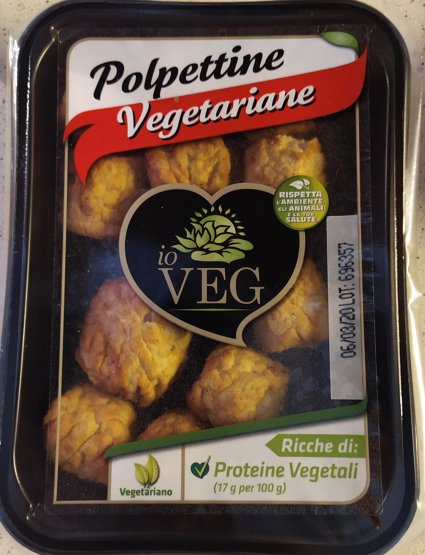 polpettine vegetariane - Produit - it