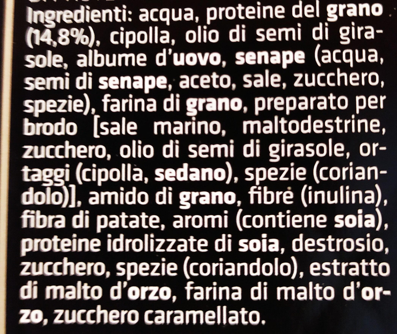 polpettine vegetariane - Ingrédients - it