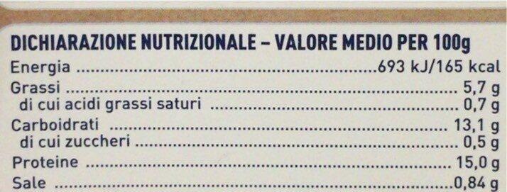 Cotoletta Merluzzo Nordico - Informations nutritionnelles - it