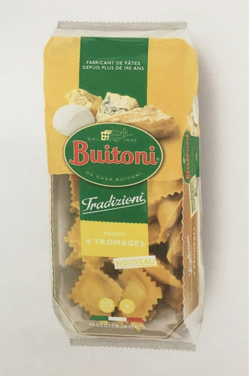 Ravioli 4 Fromages - Product - fr