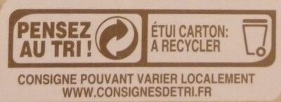 Blé dur précuit Biologique - Instruction de recyclage et/ou informations d'emballage - fr