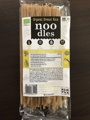 Organic brown rice noodle - Product