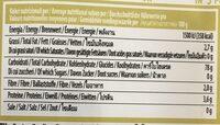 Organic brown rice noodle - Voedingswaarden - en