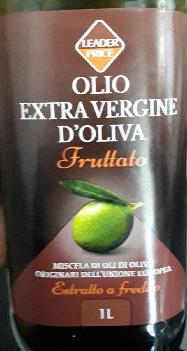 Olio Extra Vergine di olivia Huile D'olive Vierge Extra - Producte