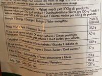 Piadina snack olio - Informazioni nutrizionali - it