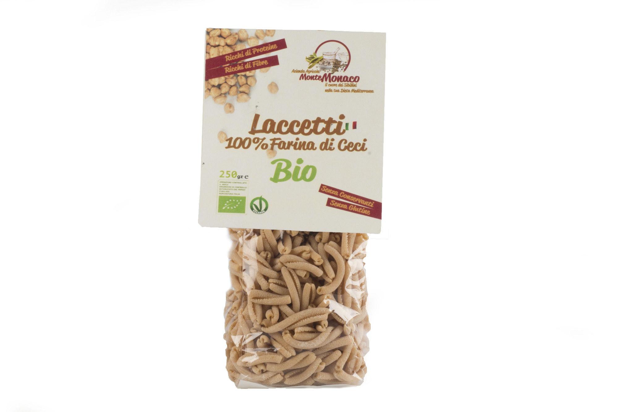 Laccetti 100% Farina di Ceci BIO - Azienda Agricola Monte Monaco - Product - it