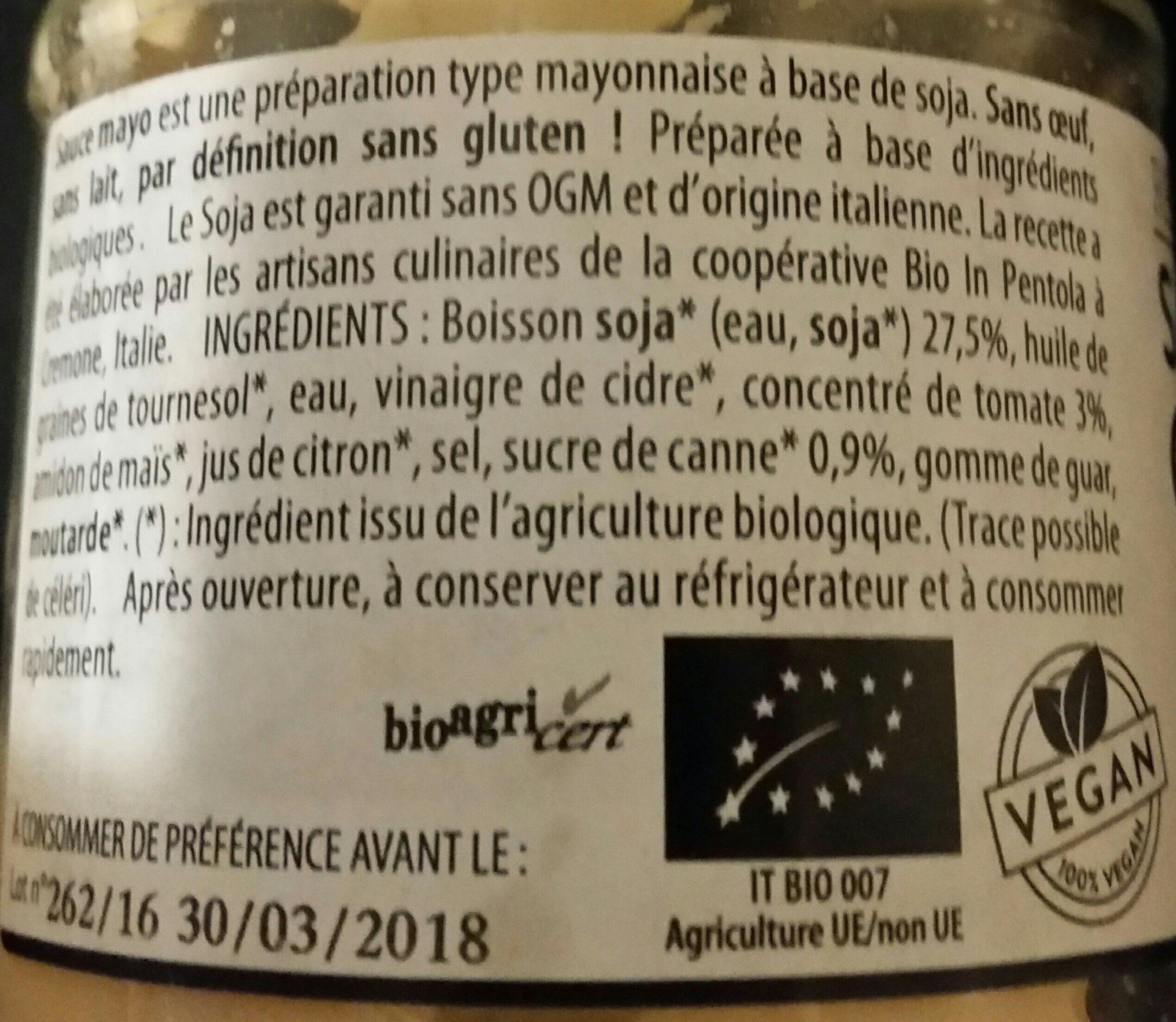 Sauce mayo cocktail - Ingrediënten - fr