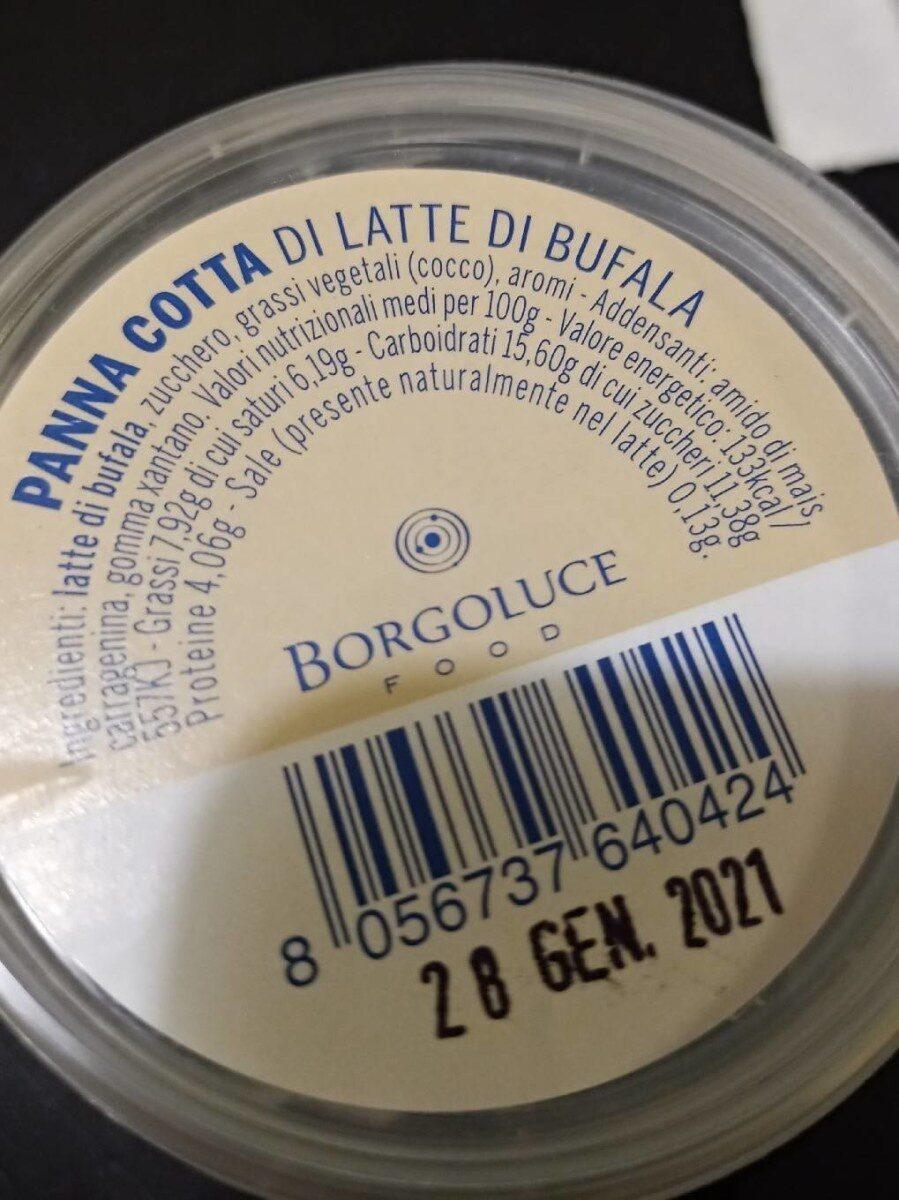Panna cotta di latte di bufala - Product - fr