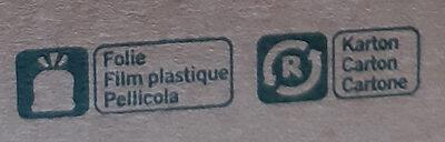 Bio Fraises - Recyclinginstructies en / of verpakkingsinformatie - fr