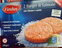 Burger di salmone - Product - it