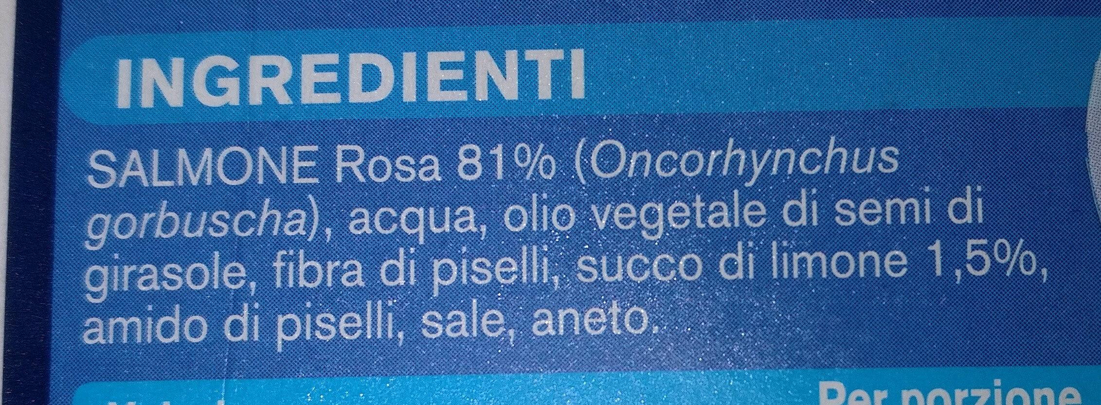 Burger di salmone - Ingrediënten - it