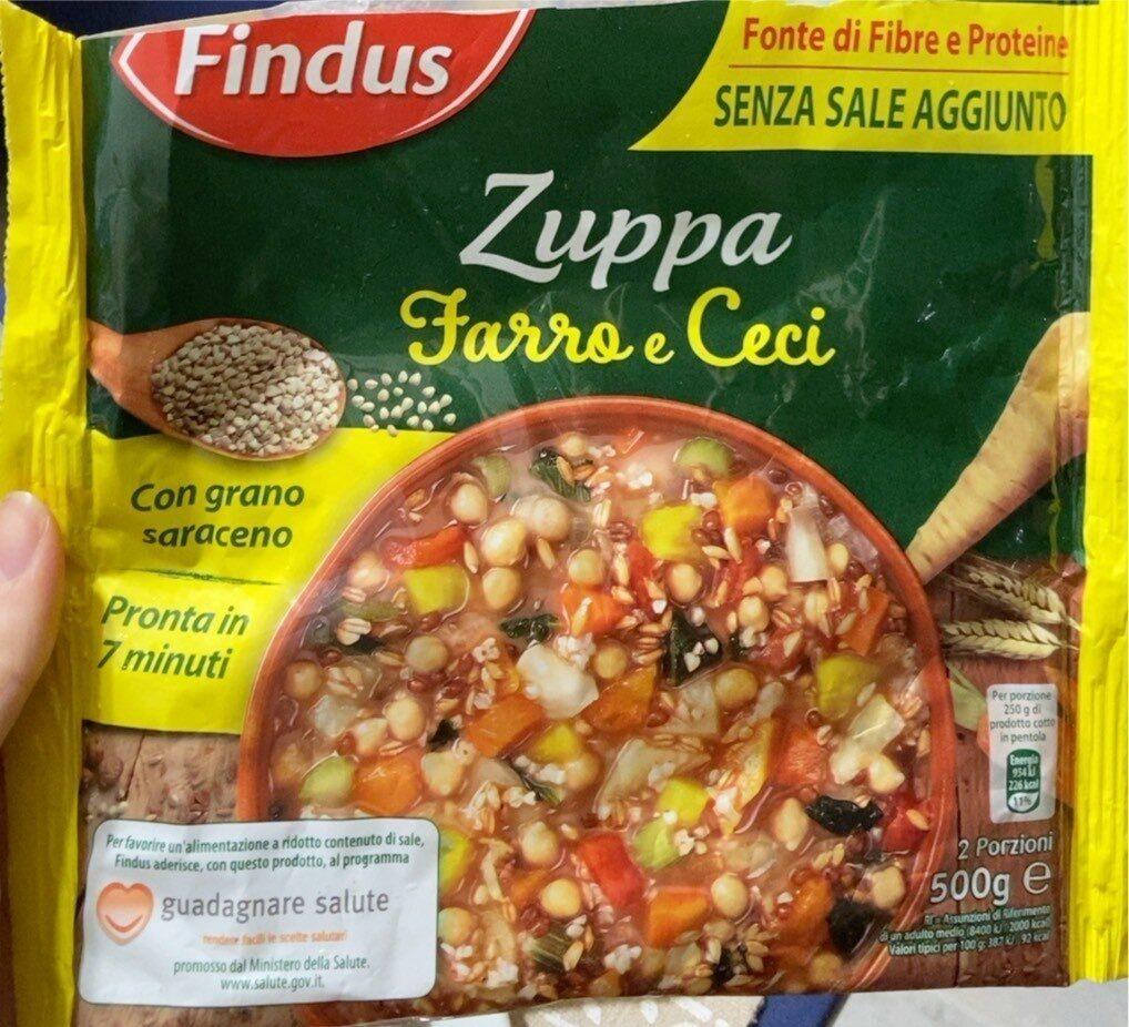 Zuppa farro e ceci - Produit - it