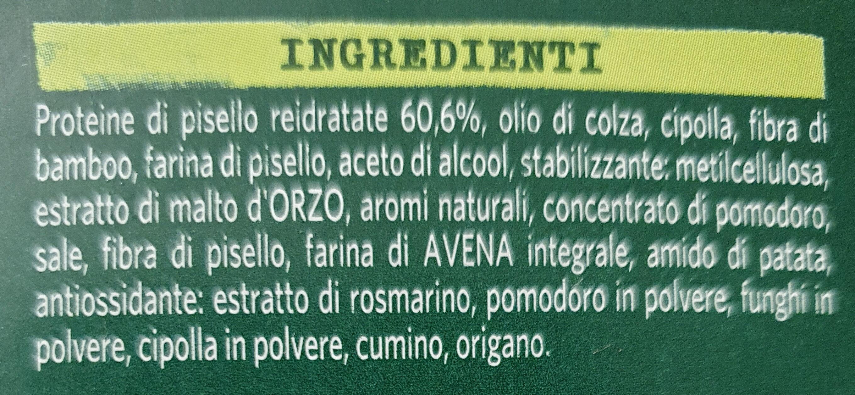 Green cuisine - Ingrédients - it