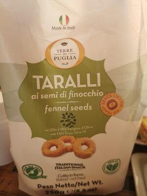 Taralli aux graines de fenouil - Product - fr