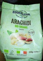 Arachidi bio organic - Produit - fr