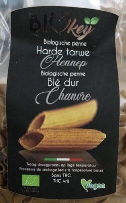 Biologische penne blé dur chanvre - Product - fr