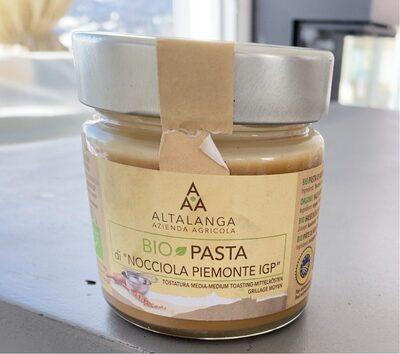 Bio Pasta di Nocciola piemonte - Prodotto - en
