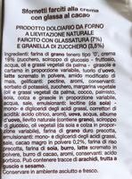Sfornetti - Ingrédients - it