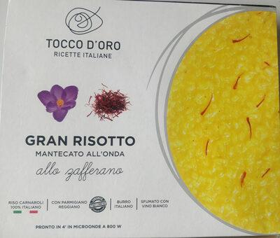 gran risotto mantecato all'onda allo zafferano - Prodotto - it