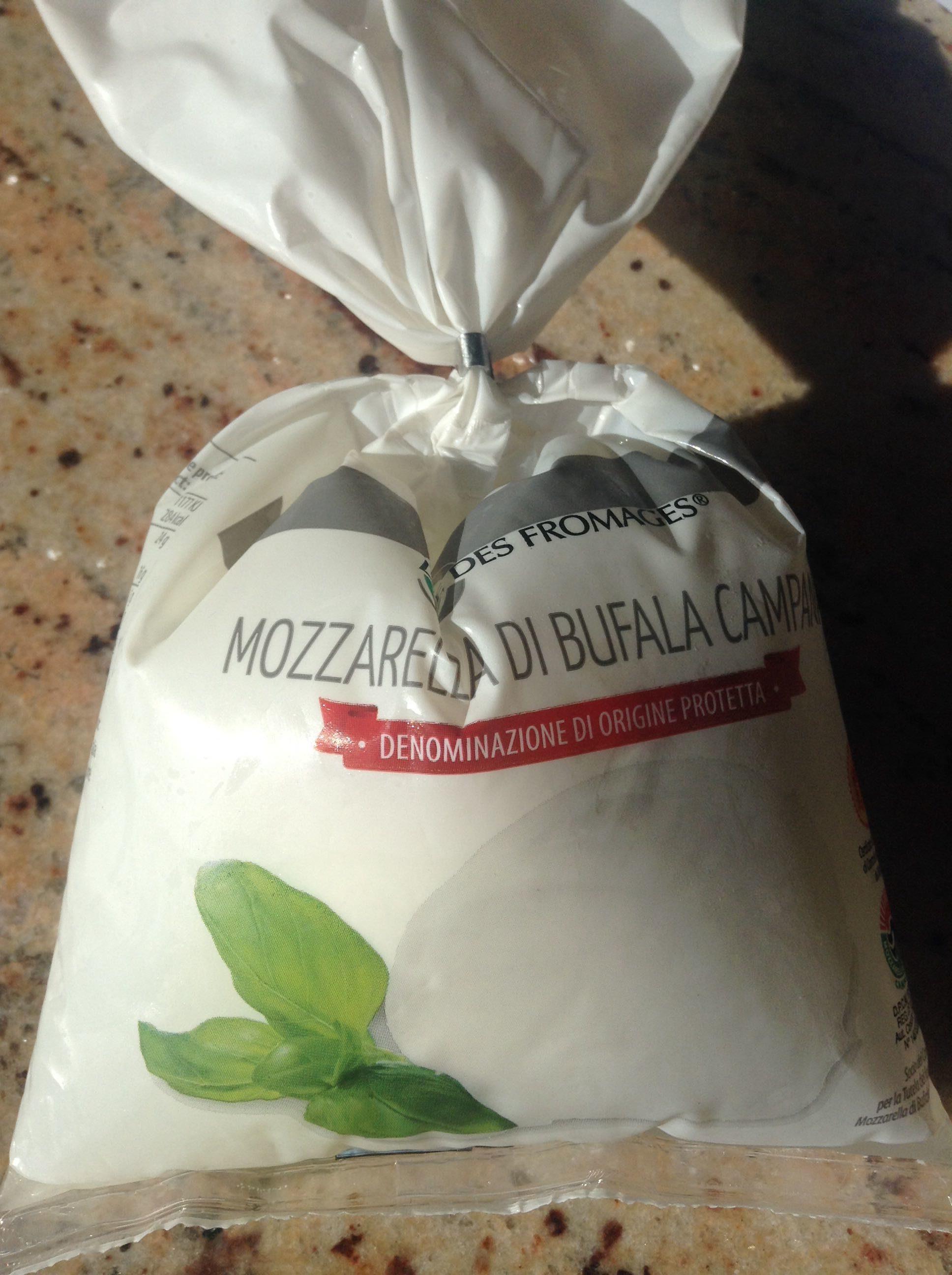 Mozzarella di Bufala Campana AOP (21% MG) - 400 g - L'Italie des fromages - Product