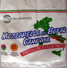 Mozzarella di Bufala Campana AOP (21% MG) - 400 g - L'Italie des fromages - Producto
