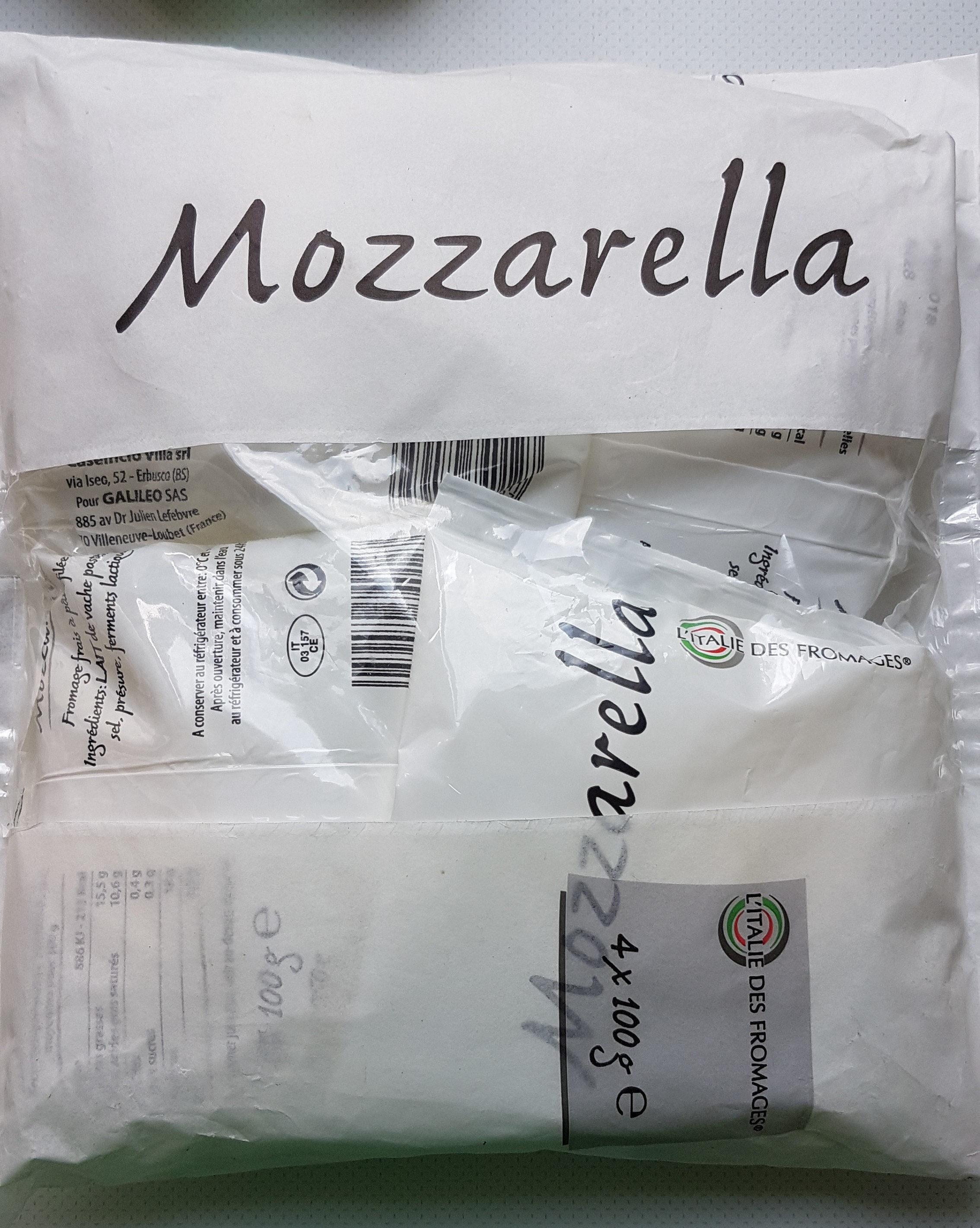 Mozzarella italienne L'Italie des Fromages - Produit - fr