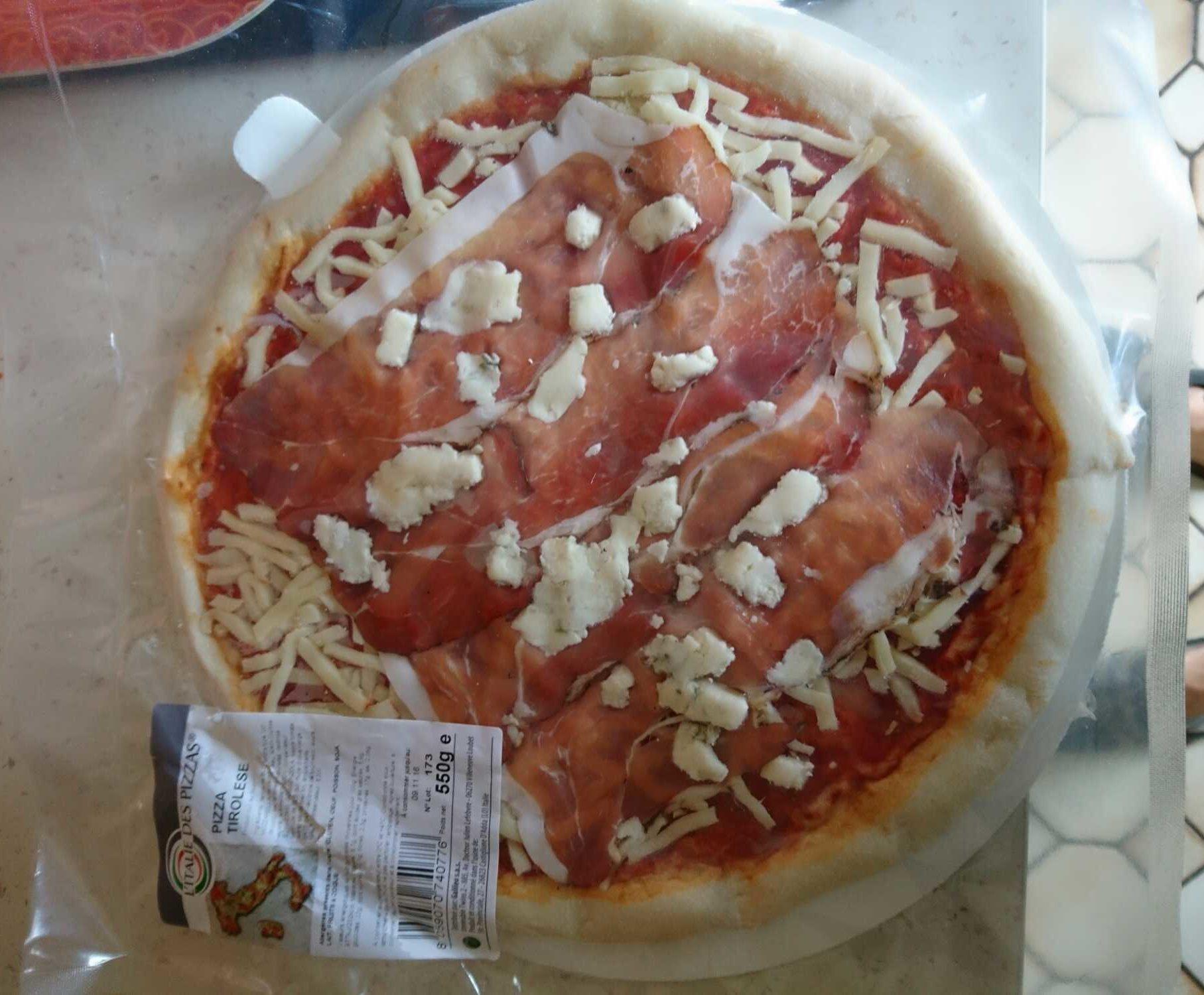 Pizza Tirolese - Produit - fr